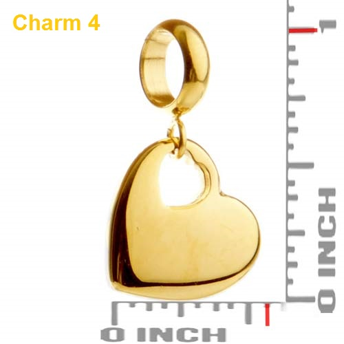 Echo Soft Leather Gold Charm Wrap - Deluxe Deal inset 4