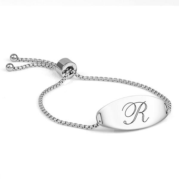 Kristina Silver Engraved Bracelets for Her inset 3