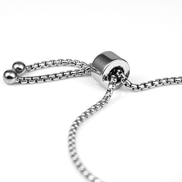 Kylie Adjustable Engraved Bracelet For Her inset 1