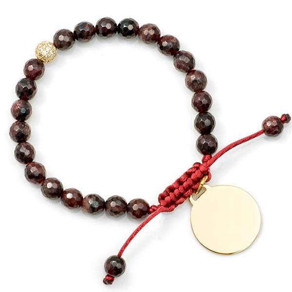 Delilah Garnet Custom Bracelet inset 1