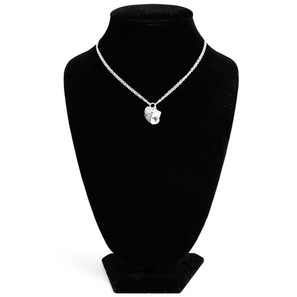 Charming Engraved Sterling Silver Necklace inset 3