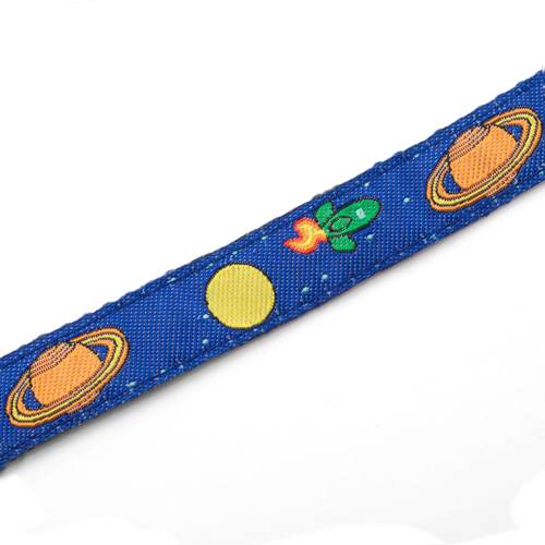 Space Mission Strap for Slide On ID Tags LG Fits 4 - 8 Inch inset 2