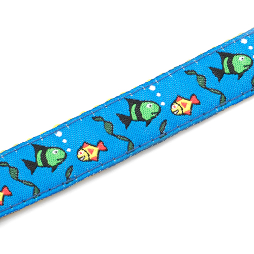 Fish Strap for Slide On ID Tags LG Fits 4 - 8 Inch inset 3