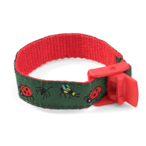 Bugs Strap for Slide On ID Tags SM Fits 4 - 6 Inch inset 1