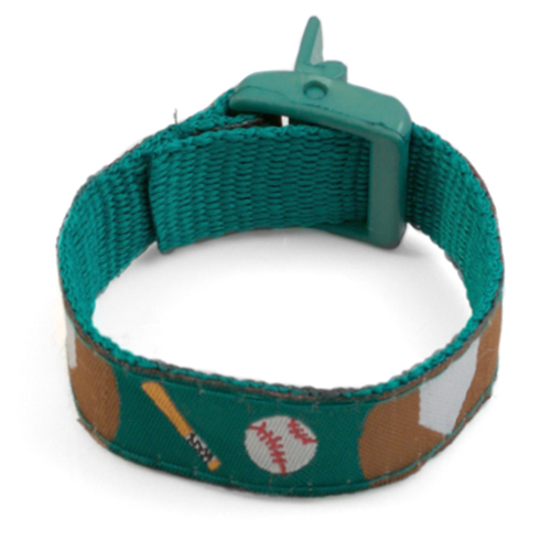 Baseball Strap for Slide On ID Tags LG Fits 4 - 8 Inch inset 2