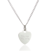 Brilliant Heart Stainless Steel Necklaces for Her