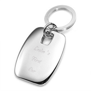 Nickel Plated Personalized Keychains