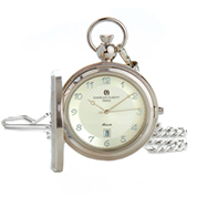 Charles Hubert Photo Insert Engravable Pocket Watch