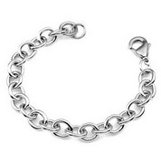 Stainless Steel Bracelet for Charms 7 1/2 inch