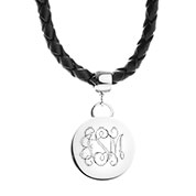 Personalized Leather Custom Choker Necklace