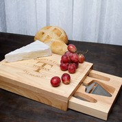 Eco-Friendly Wooden Cheeseboard Custom Wedding Gifts