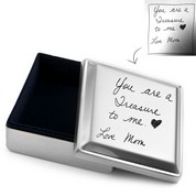 Handwriting Gifts Square Jewelry Box