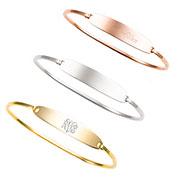 Jenna Bangle Engravable Bracelets for Her