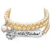 40 & Fabulous! Silver Plated Charm Bracelets by John Wind