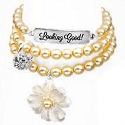 Looking Good! Silver Plated Charm Bracelets by John Wind