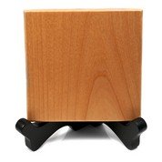 Engraved Wood Square & Stand Tabletop Décor