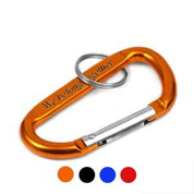 Carabiner Style Engraved Keychains