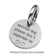 MD Engraved Stainless ID Tag for Purses, Pets, & More