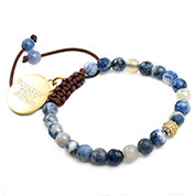 Ocean Blue Sodalite Gemstone Bracelet