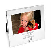 Personalized Silver Frame for 4 x 6 Photo