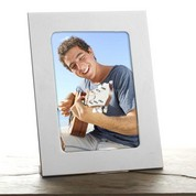Personalized Silver Picture Frame for 5 x 7