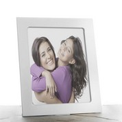 Polished Silver Personalized Picture Frames