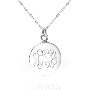 Sterling Silver Personalized Necklaces