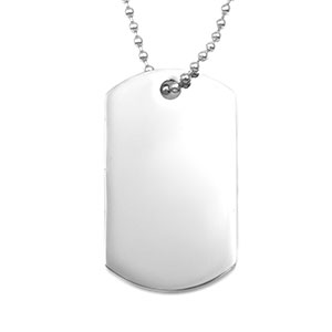 Personalized Steel Dog Tag