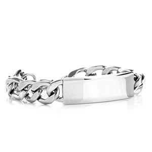 Silver Figaro Personalized Bracelet