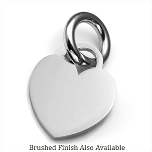 MD Stainless Heart ID Tag for Purses, Pets, & More