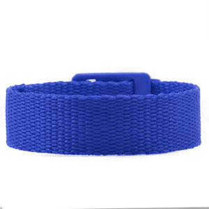 Blue Strap for Slide On ID Tags LG Fits 4 - 8 Inch
