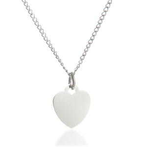 Brilliant Heart Personalized Necklaces for Her