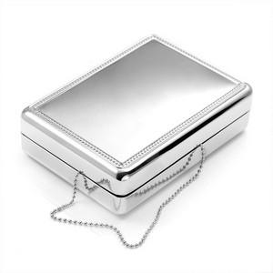 Silver Personalized Jewelry Box