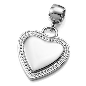 Lovely Heart Charm Pendant