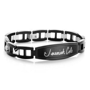 Custom Engraved Signature Bracelet