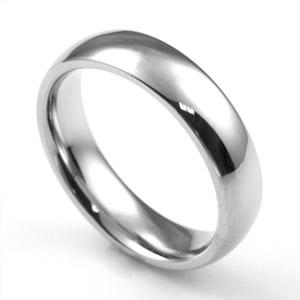 Classic Polish & Steel Engravable Rings