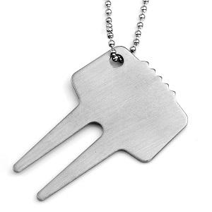 Golf Divot Repair Tool Keychain