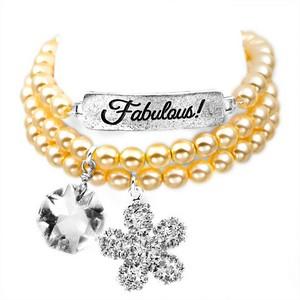 Fabulous! Silver Plated Charm Bracelets by John Wind