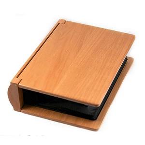 Personalized Maple Wood Photo Album Book