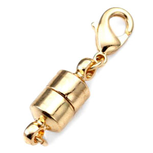 Gold Colored Magnetic Lobster Clasp Converter