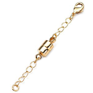 Gold Colored Magnetic Clasp Extender