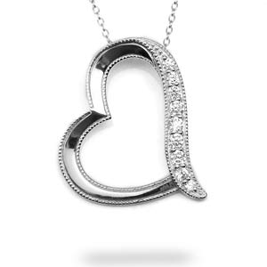My Daughter In Law My Friend Sterling Silver Heart Necklace