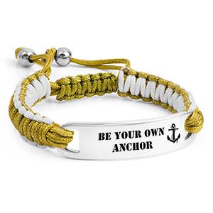 Apple Green Drawstring Bracelet