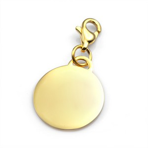 Personalized Gold Engravable Charm