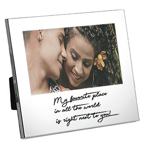 Personalized Handwriting Gifts Silver Picture Frame