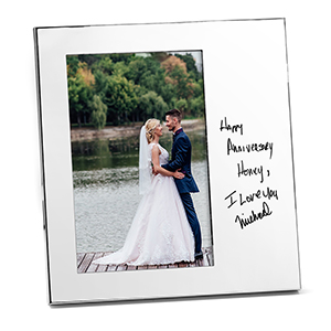 Personalized Handwriting Picture Frame - Vertical