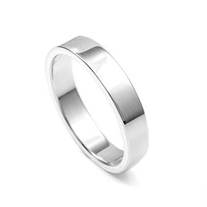 4mm Sterling Silver Stackable Engraved Rings