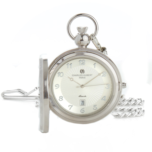 Charles-Hubert Paris Photo Insert Pocket Watch for Dad