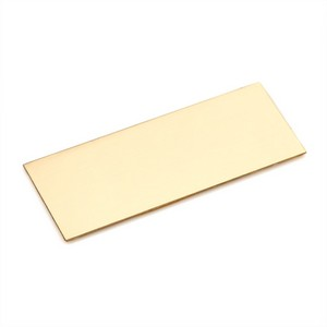 Rectangle Brass Engraved Name Plate