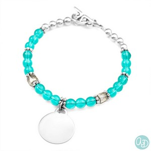 Seabreeze Ashley Engraved Charm Bracelet